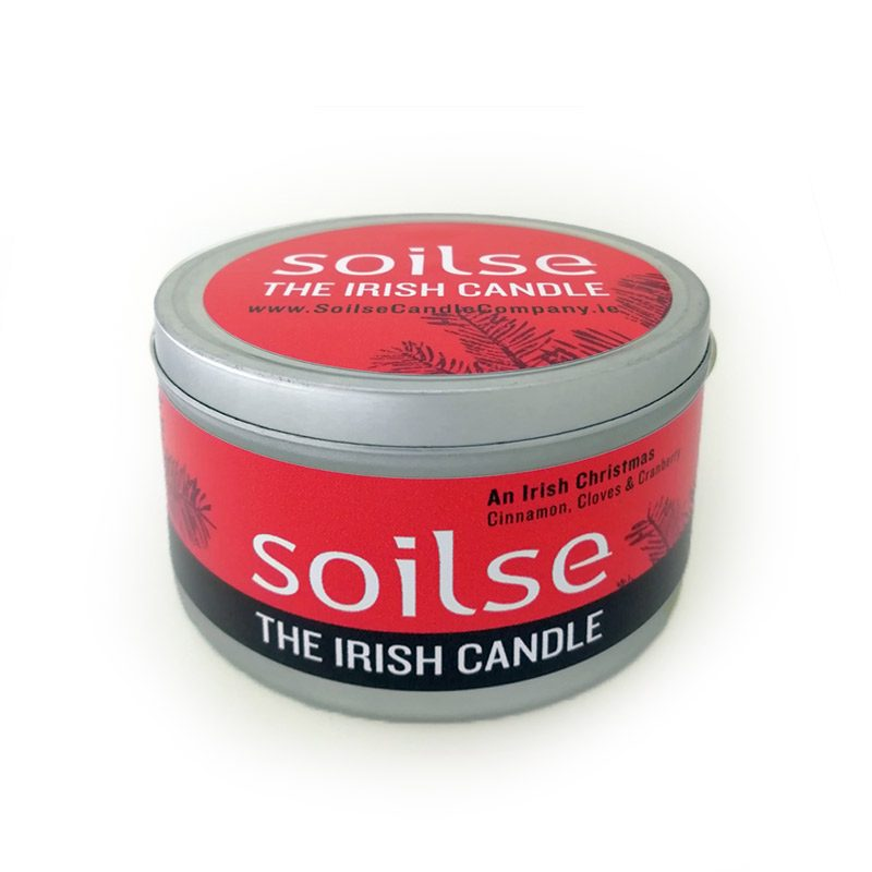 Irish Christmas Travel Candle