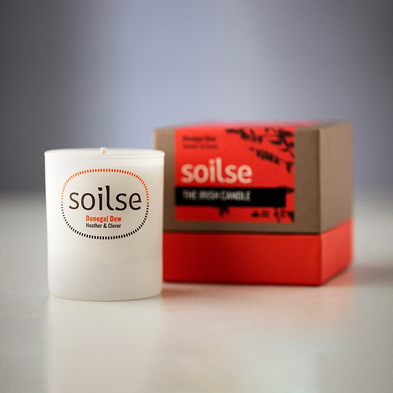 soilse candle donegal dew