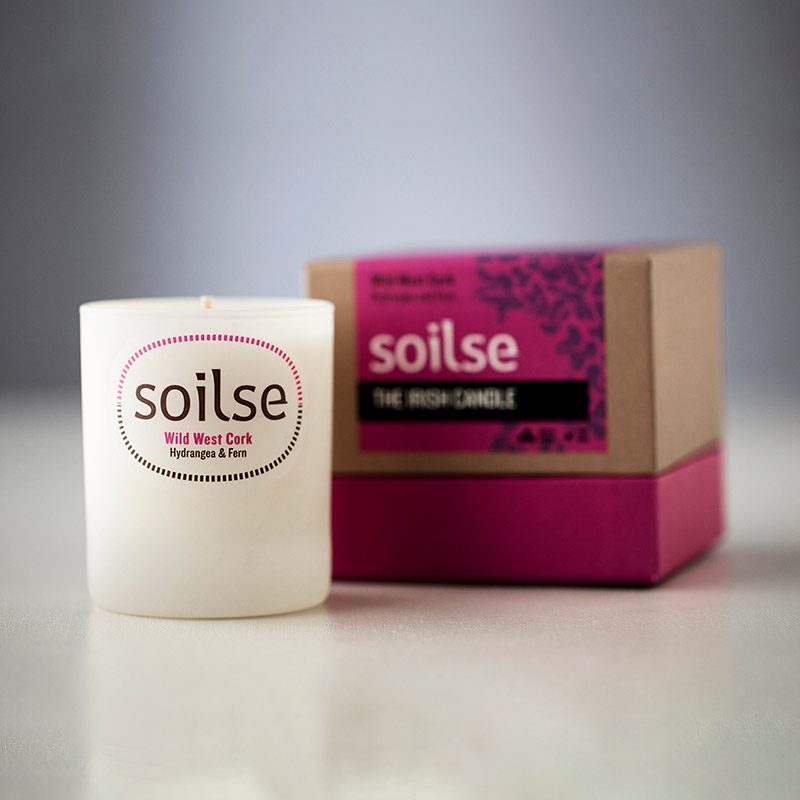 soilse candle wild west cork